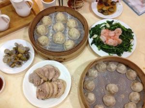 Xiao long baos
