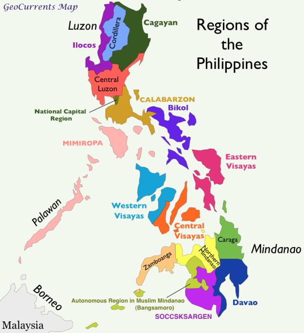 Philippines-Regions-Map
